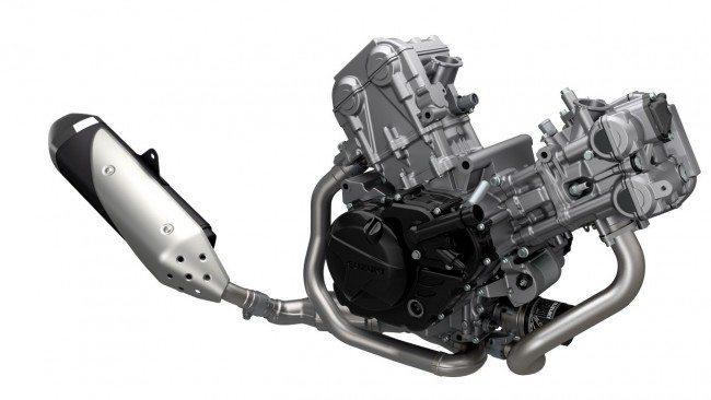 2017 Suzuki SV650S Engine