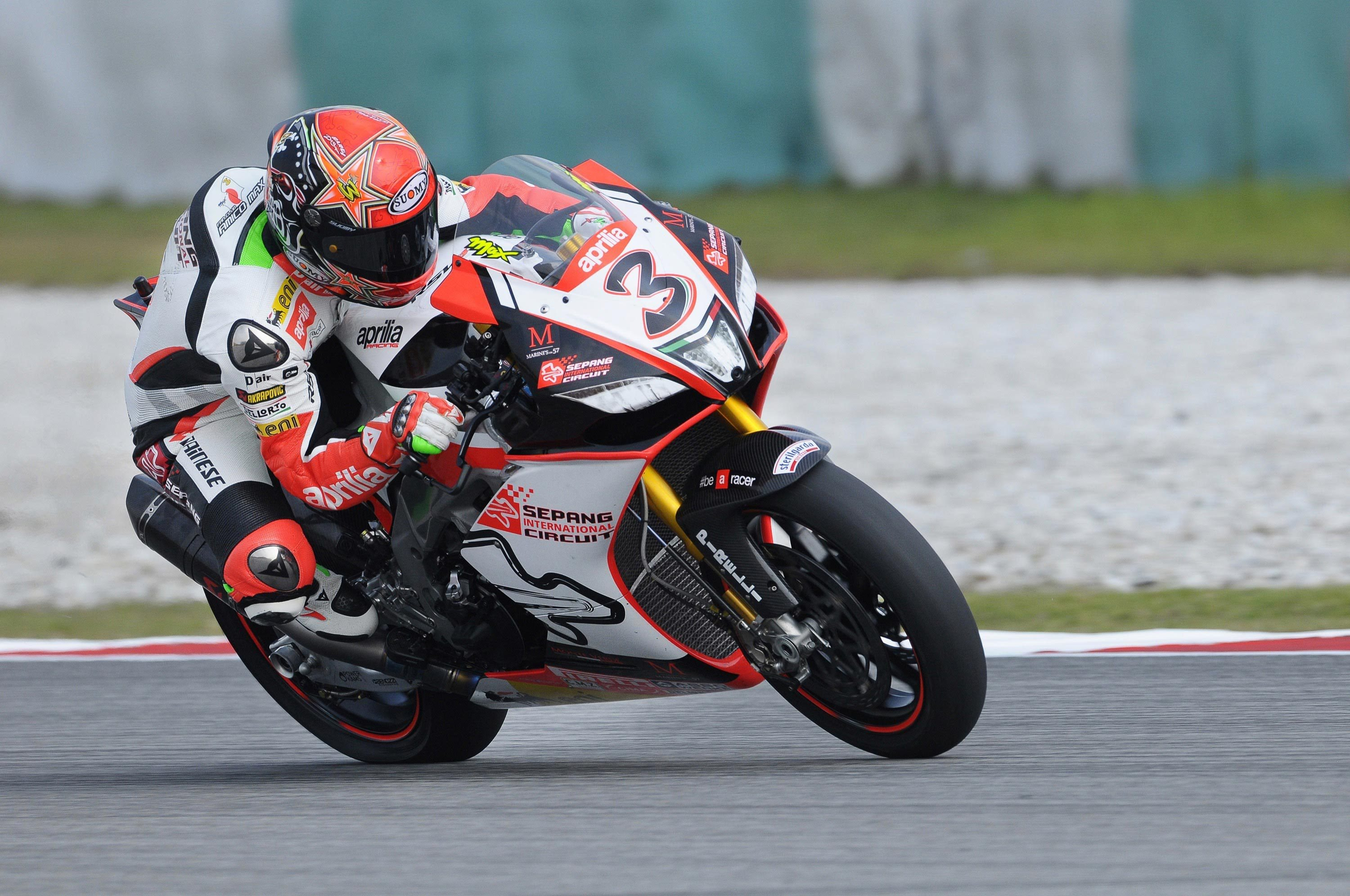 "review of the aprilia rsv4 r-fw ""misano"" motorbike"