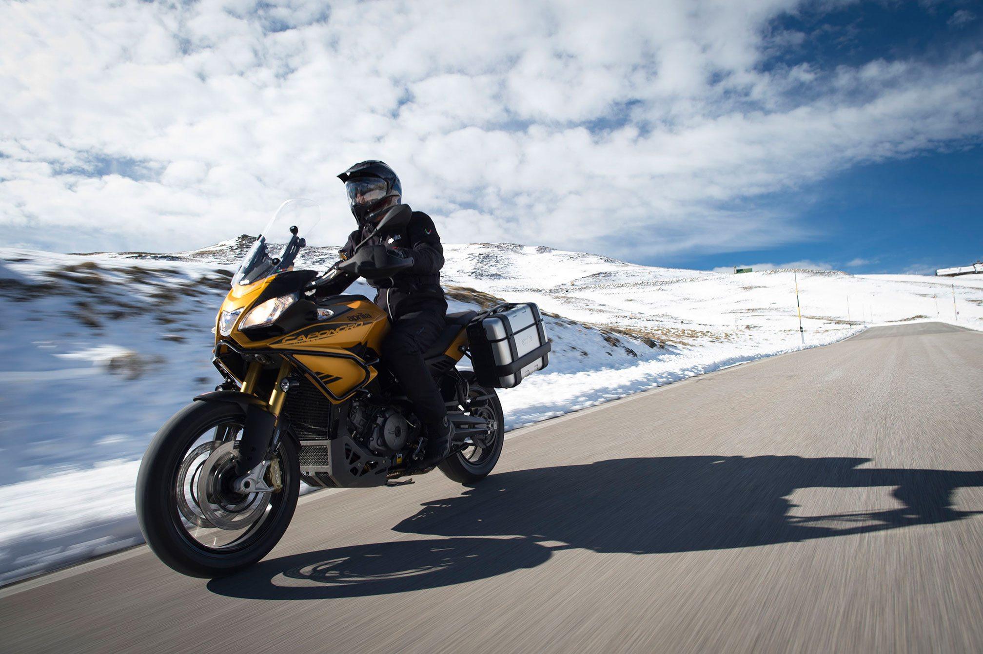 2016 Aprilia Caponord 1200 ABS Front