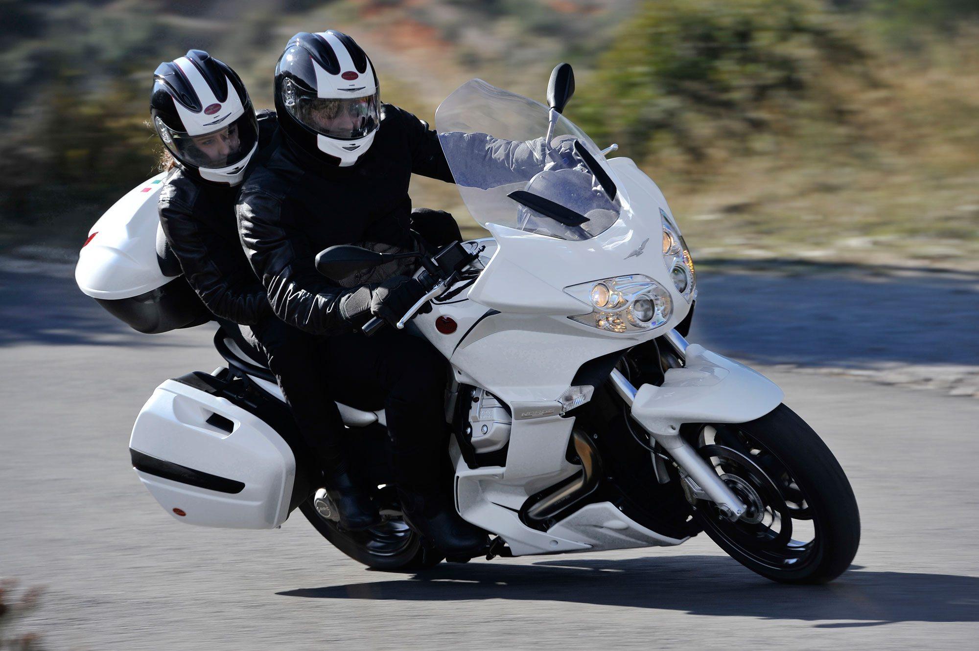 Moto Guzzi Norge turn